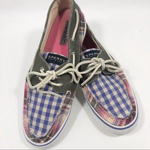 Sperry Top Sider | Plaid Loafers | 8.5M